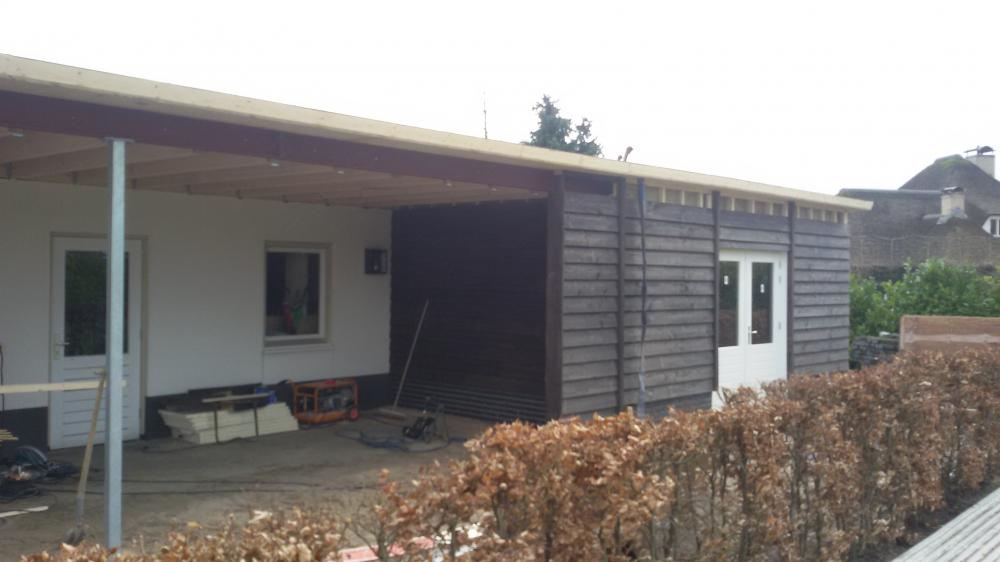Project Verbouw garage/berging Zeddam