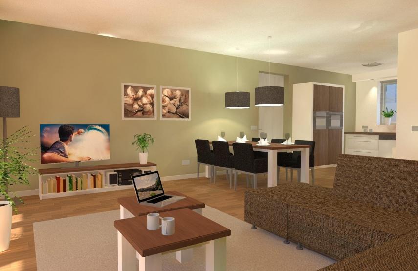 Ontwerp interieur woningen kranenburg 3d ontwerpen for 3d interieur ontwerpen