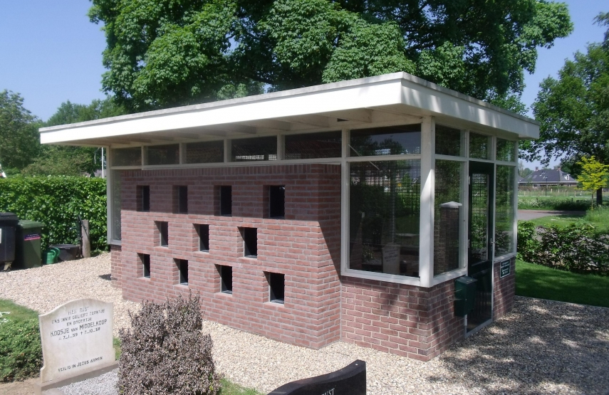 Project Verbouw Urnenmuur Baakseweg Wichmond
